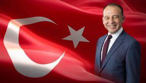 """BAŞKAN AKIN """"100 YIL ÖNCE YAKILAN BAĞIMSIZLIK MEŞALESİ TÜM ULUSU AYDINLATMIŞTIR"""""""