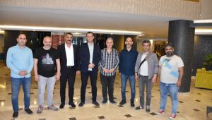 EMNİYET MÜDÜRÜ PARILDAR GAZETECİLERİ İFTAR'DA AĞIRLADI