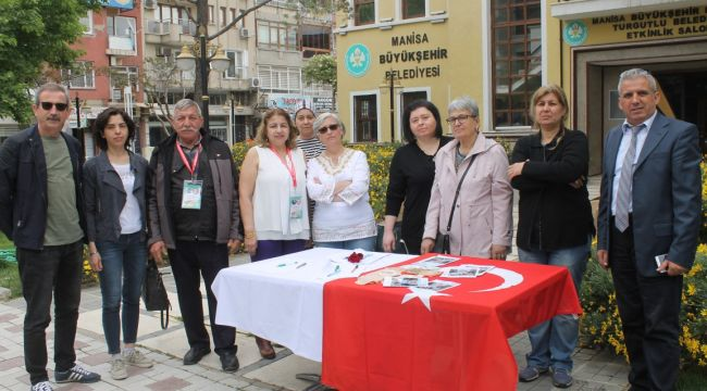 KANSER HASTALARI TURGUTLU'DA DESTEK İSTEDİ