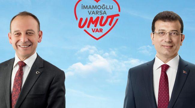 ÇETİN AKIN, İMAMOĞLU'NA DESTEK İÇİN İSTANBUL'DA
