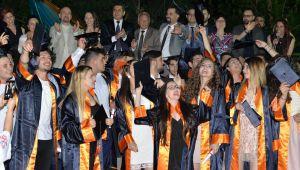 HEDEF LİSESİ MEZUNLARI KEPLERİ FIRLATTI