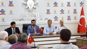AK PARTİ TURGUTLU'DA BAYRAMLAŞMA
