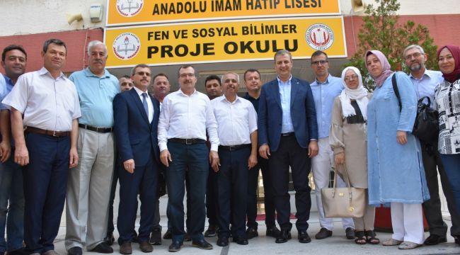 MİLLETVEKİLİ UĞUR AYDEMİR TURGUTLU'DA