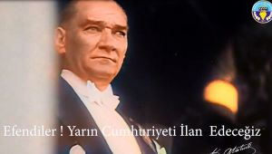 ÇETİN AKIN'DAN CUMHURİYET BAYRAMINA VİDEOLU DAVET