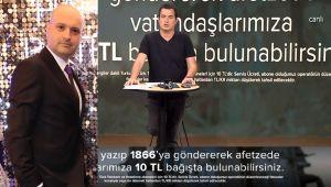 POLAT YAĞCI'DAN ELAZIĞ'A 100 BİN TL