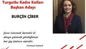 CHP'DE BURÇİN ÇİBER KADIN KOLLARINA ADAY