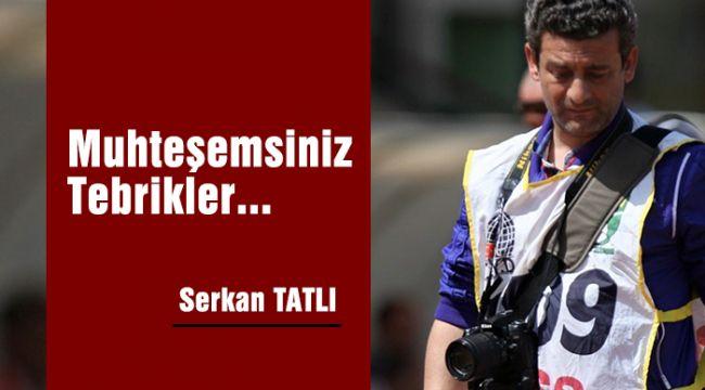 MUHTEŞEMSİNİZ TEBRİKLER..