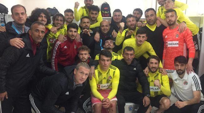 KASABA CİZRE'DE TEK GOLLE 3 PUANI ALDI