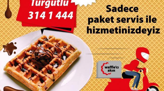 WAFFLE'CI AKIN PAKET SERVİSLE EVİNİZDE