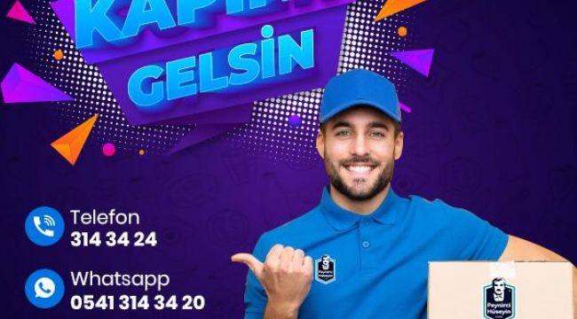 SİPARİŞ VER KAPINA GELSİN!