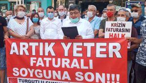 CHP'DEN YÜKSEK SU FATURALARINA TEPKİ