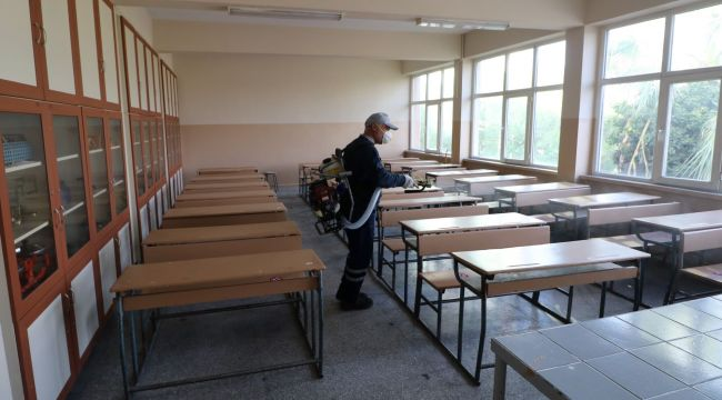 TURGUTLU'DA SINAV MERKEZ YERLERİ KPSS'YE HAZIR