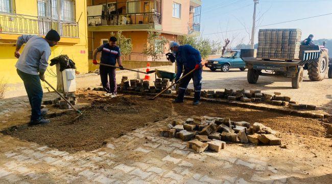 AHMETLİ'DE ÇALIŞMALAR HIZ KAZANDI