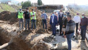ÇEPNİDERE'YE 10 KM KANALİZASYON, 8 KM İÇME SUYU HATTI DÖŞENECEK