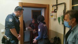 TURGUTLU'DA POLİS EKİPLERİNDEN ŞEHİT ANNELERİNE ZİYARET