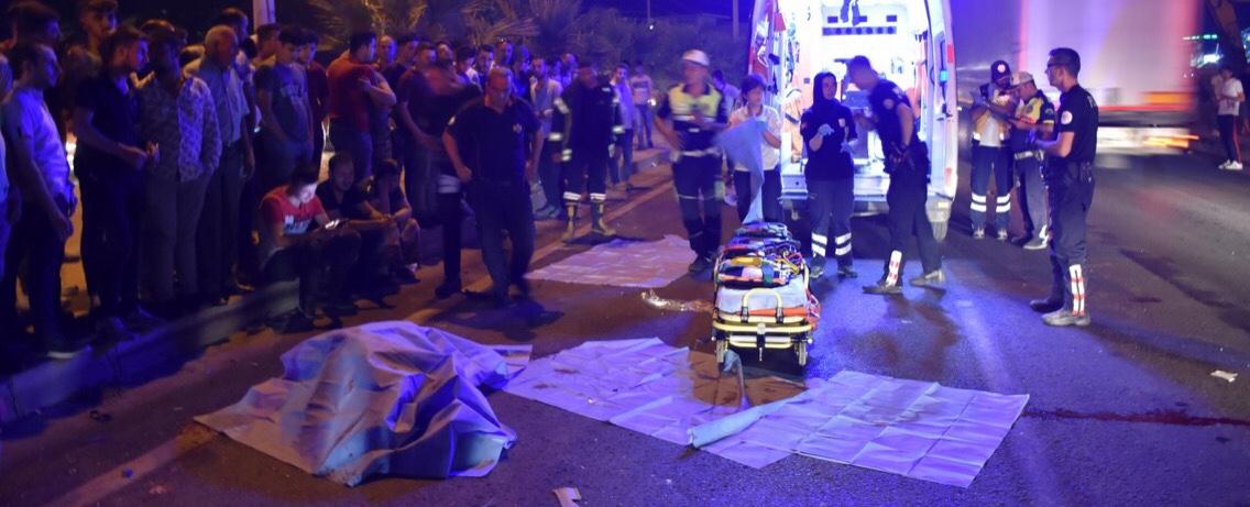 Turgutlu'da Feci Kaza 2 ölü