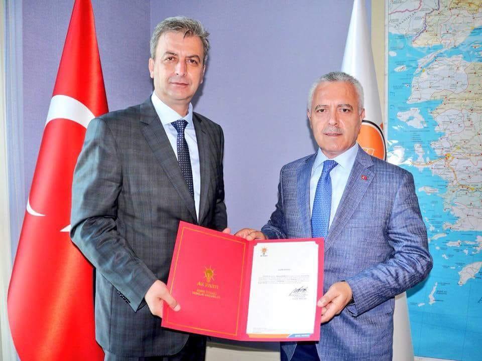 Kazım Dilek'in Başkanlığı Onandı