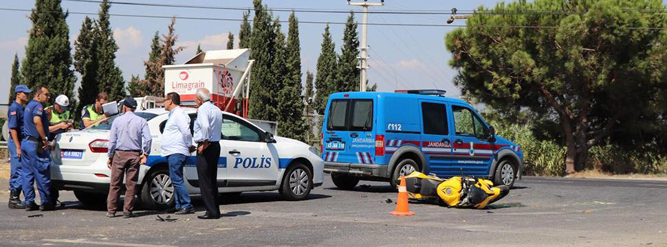 Turgutlu'da Kaza 2 Ağır Yaralı