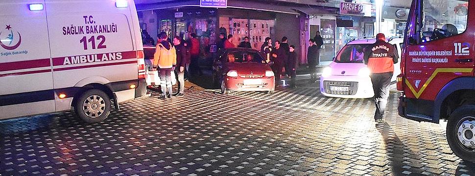 Turgutlu'da Trafik Kazası, 1 Yaralı