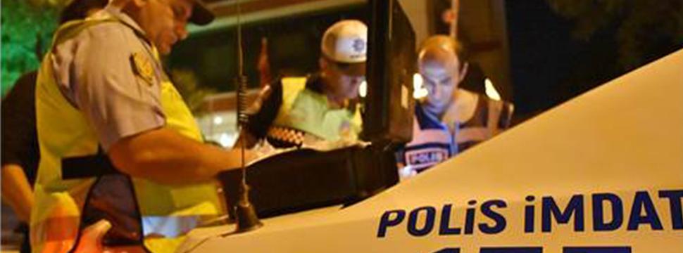Bir Ayda 313 şüpheli Gözaltına Alındı 42 şüpheli Tutuklandı
