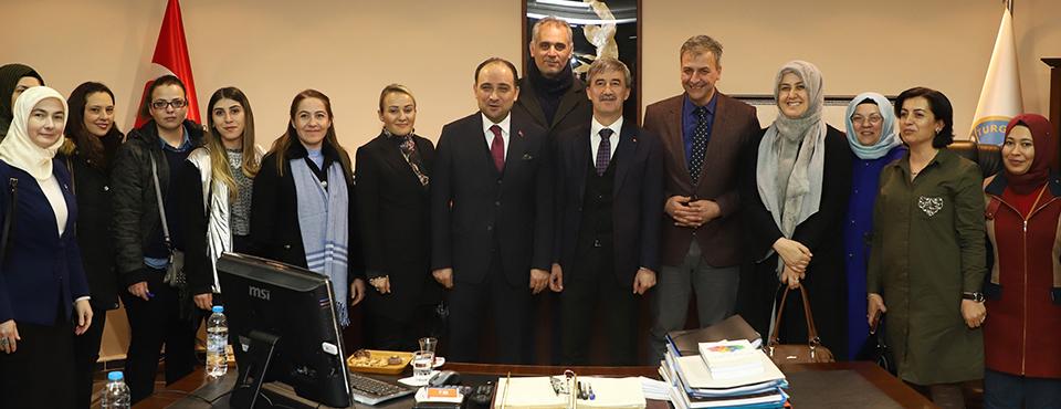 Milletvekili Baybatur'dan Cumhur İttifakı Adayı Turgay şirin'e Ziyaret
