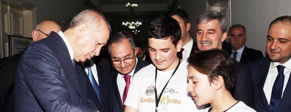 Cumhur İttifakı Adayı Turgay şirin Cumhurbaşkanı Erdoğan'la