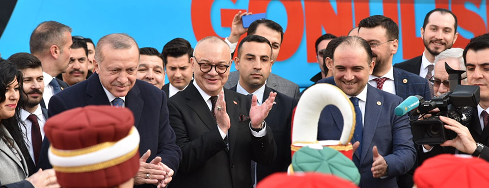Cumhurbaşkanı Erdoğan Cumhur İttifakı Adaylarını Tanıttı