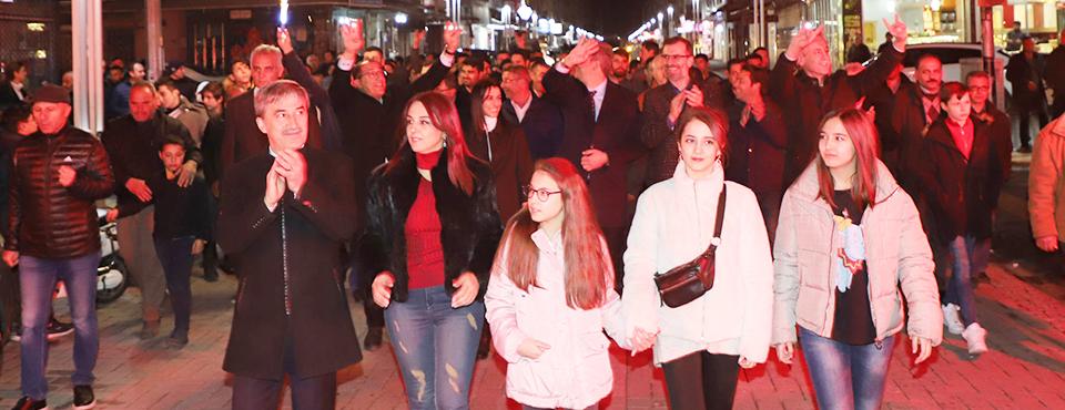Kır Mahalle'de Turgay şirin'e Büyük İlgi