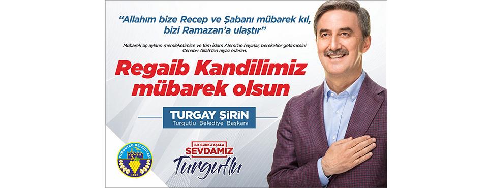 Turgay şirin'den Kandil Kutlaması