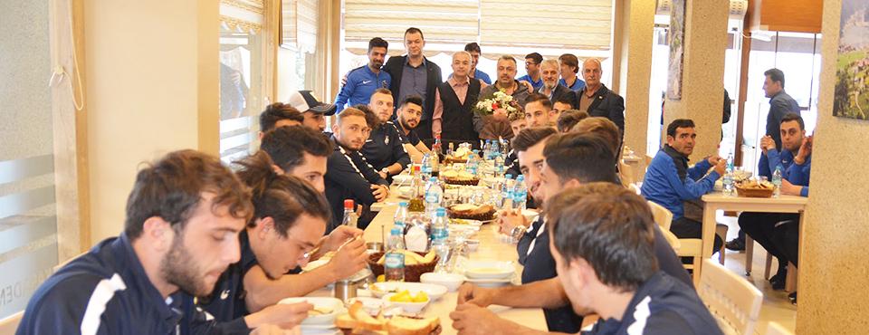 Karadenizliler Derneği 1461 Trabzon'u Konuk Etti