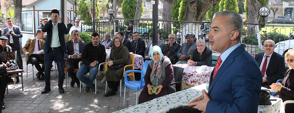 Protokol Yaşlılar Haftasını Kutladı