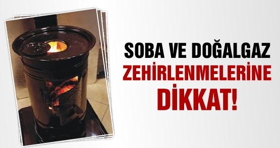 TURGUTLU'DA 1 KİŞİ SOBADAN SIZAN GAZDAN ZEHİRLENDİ